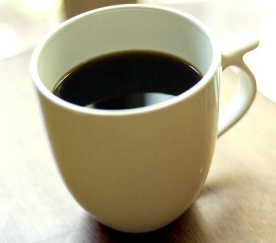 white, ceramic, cup, black, coffee