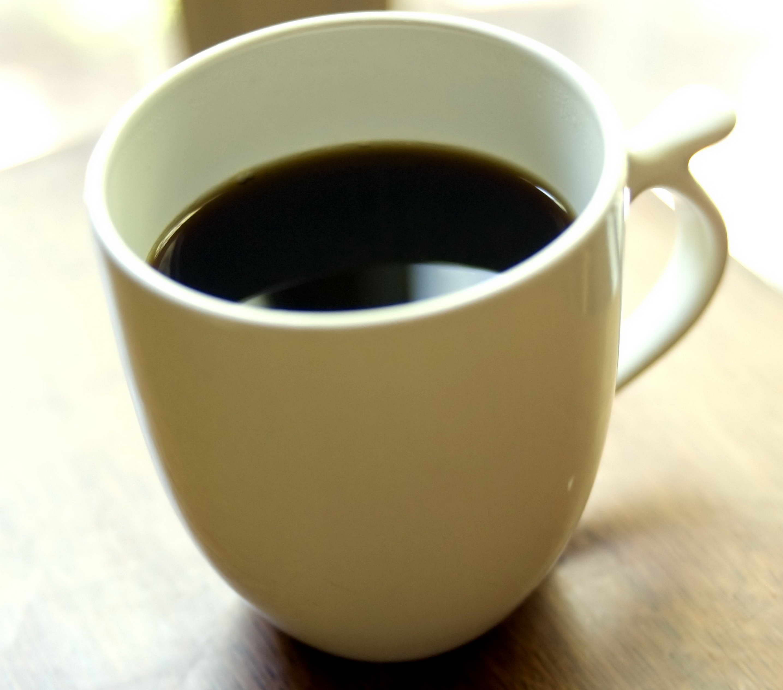 Free Picture White Ceramic Cup Black Coffee