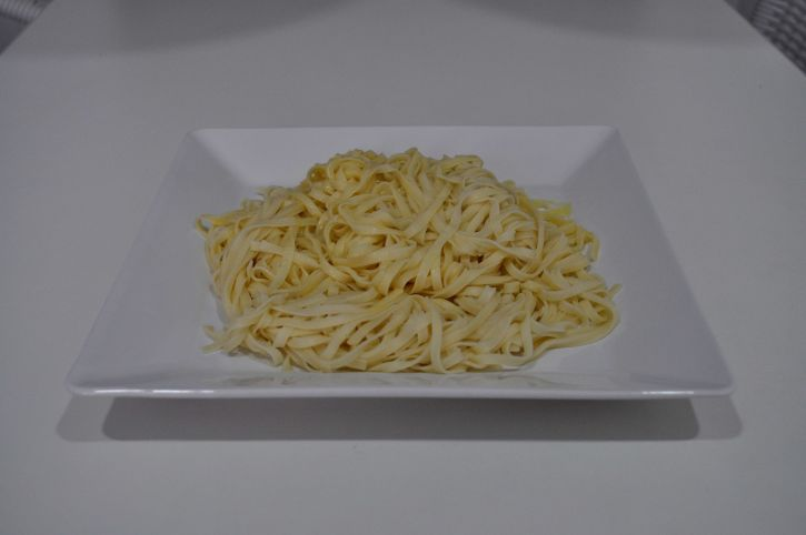 cooked, pasta, noodles