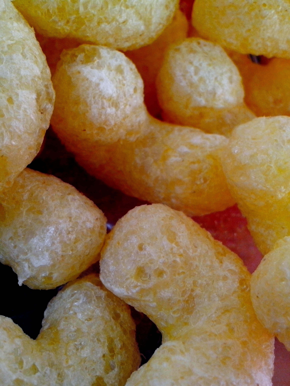 Free photograph; corn, flips, close
