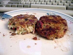 crabcakes, food