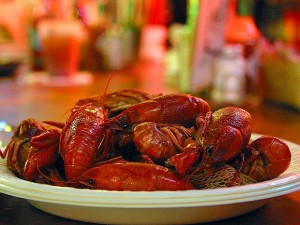 crawfish, food