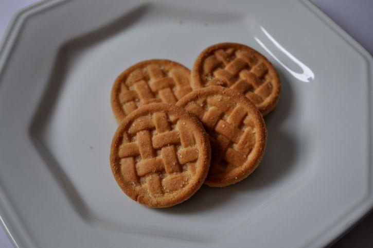 homemade, cookies, plate