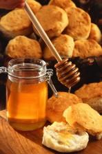 honey, biscuits