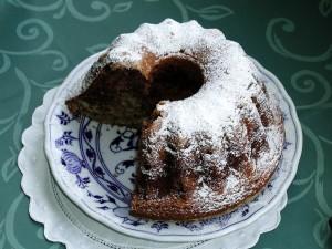 gâteau, décoré, sucre