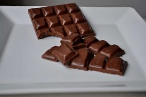 pyszne, mleko, czekolada