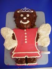 princess, angel, bear, chocolate, cake