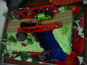 railway, birthday, cake