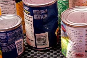 5 hộp, thực phẩm, cà chua, paste, blackeye, đậu Hà Lan, bắp, màu xanh lá cây, đậu