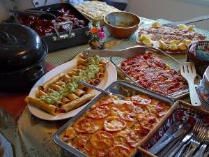 nourriture, dîner