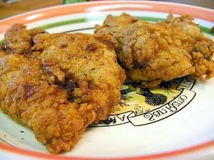 fried, chicken
