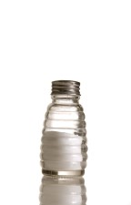 glass, salt, shaker, filled, salt
