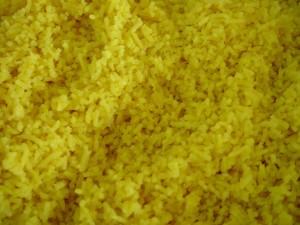 grain, le safran, le riz