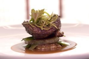 meat, filet, presentation
