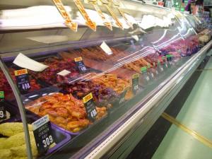 месо, Магазин