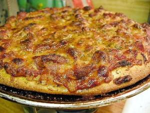 pizza, middag