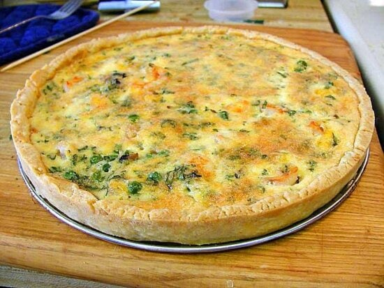 quiche, crust, cooking, food, dinner