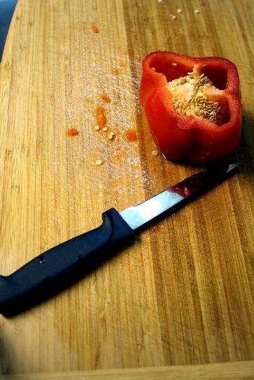 poivron rouge, capsicum annuum