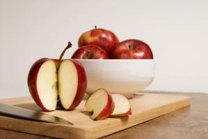 Rzym, piękno, jabłka, tła i pierwszego planu