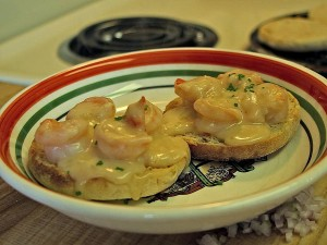 shrimp, newburg