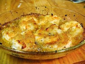 crevettes scampi