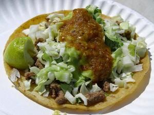 tacos, carne, asada