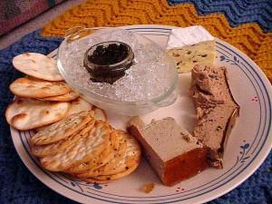 thanksgiving, brie, caviar, canard, pâté
