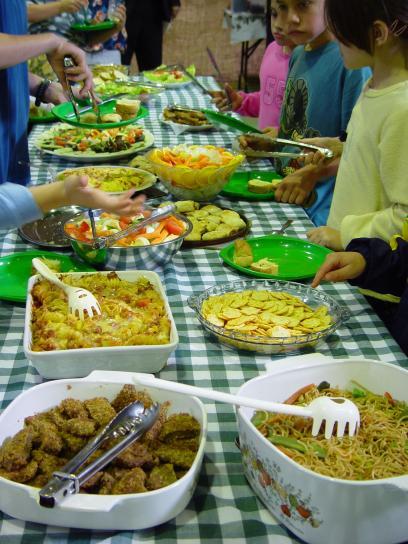 vegetarian, buffet