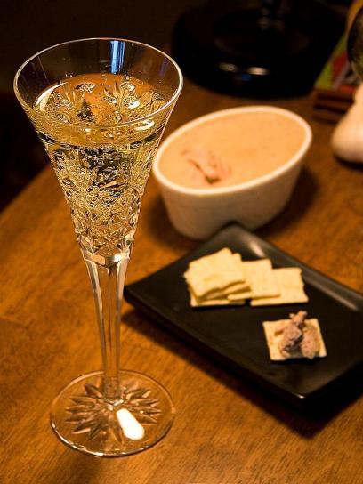 Champagner, Pastete