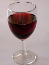 Glas, Wein, Tisch