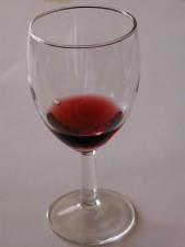 κοίλο, κρασί, γυαλί