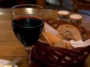 crveno vino, talijanski, restoran