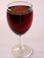 rosso, vino, vetro, ristorante