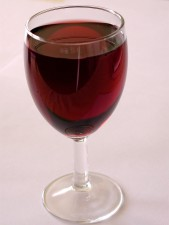 červené víno, sklo, restaurace