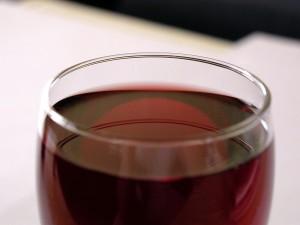 červená, víno, restaurace