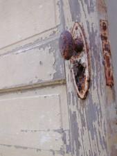 antique, door, door, handle, farmers, home, long, abandoned