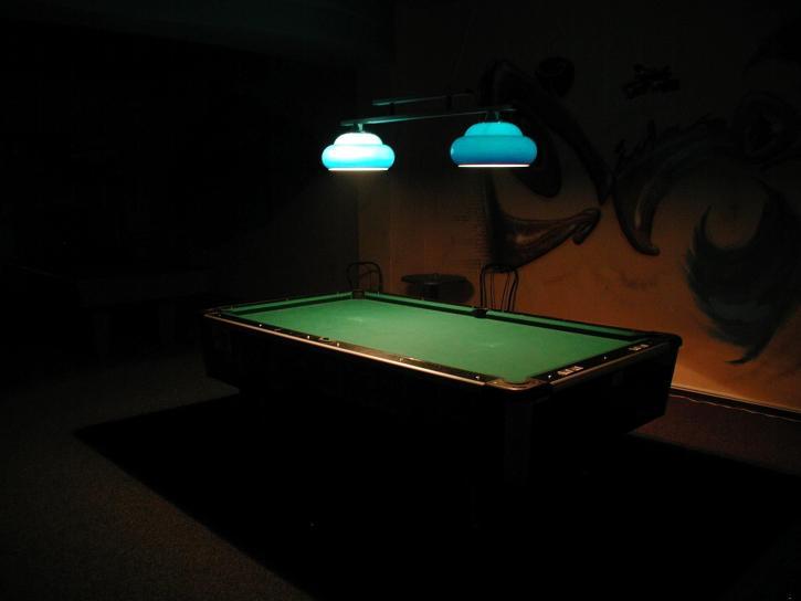 billiard, table