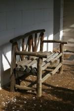 bush, timber, bench, mount, Barker, museum, western, Australia