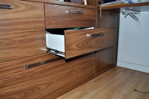 maison, meubles, tiroirs, étagères