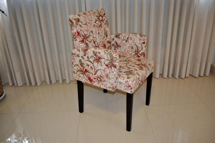 modern, colorful, armchair