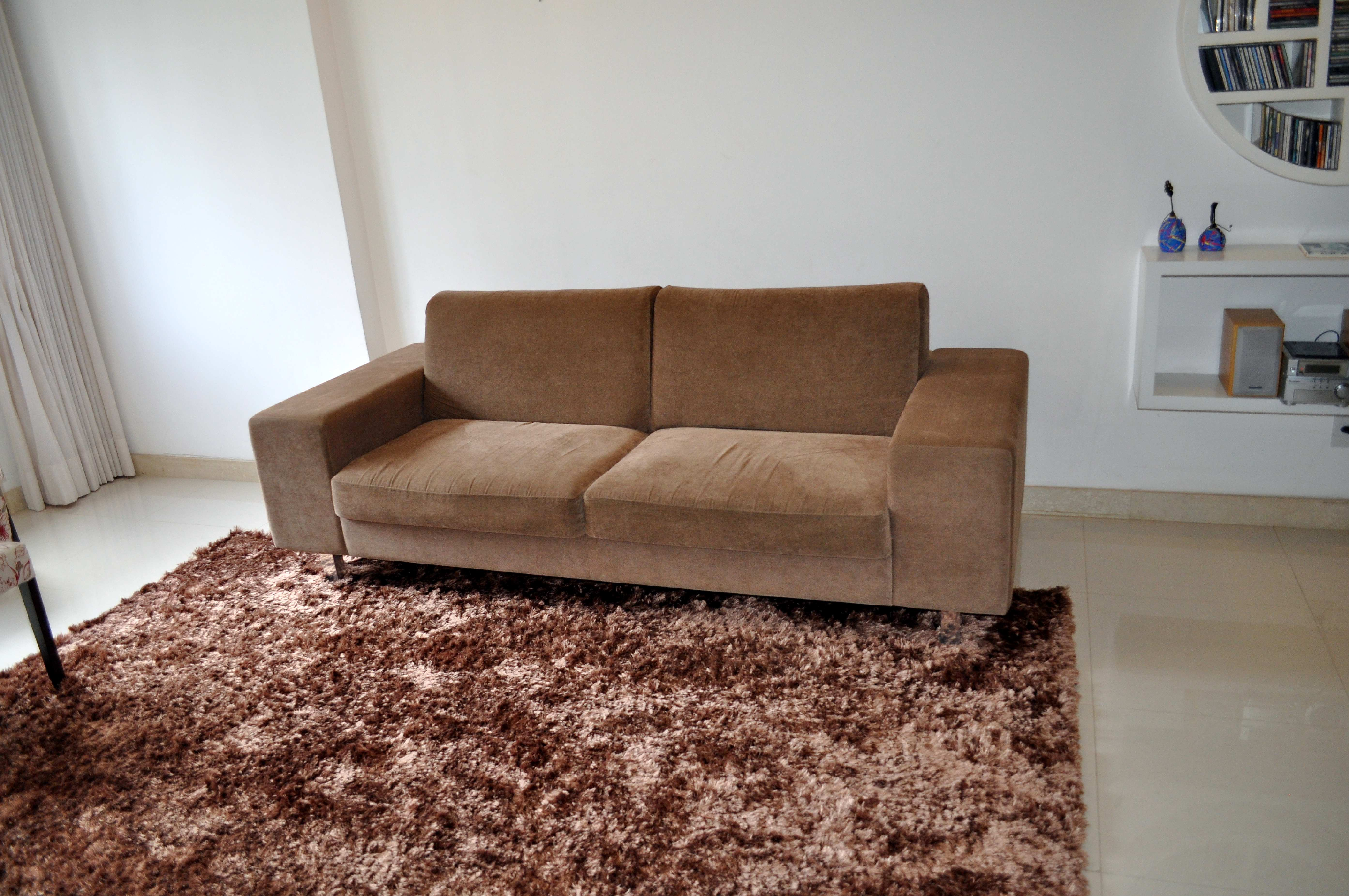 Free photograph; modern, two, seater, furniture