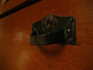 old, unique, chest, drawer, lock