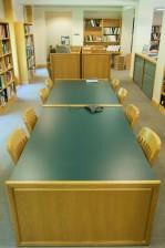 za sjedenje, prostor, knjižnica, ured