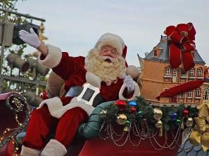 Santa, Claus, Noël