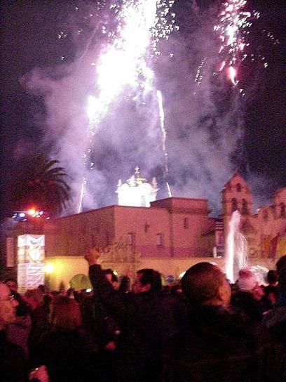 anul nou, focuri de artificii
