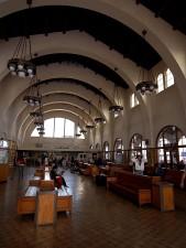 amtrak, gare, centre-ville, San Diego