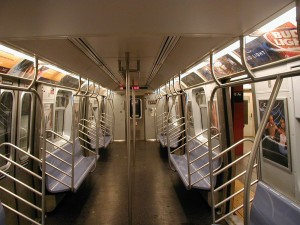 empty, train, interior