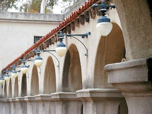 arches, lamps