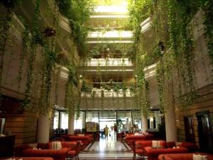 Atrium, interiør