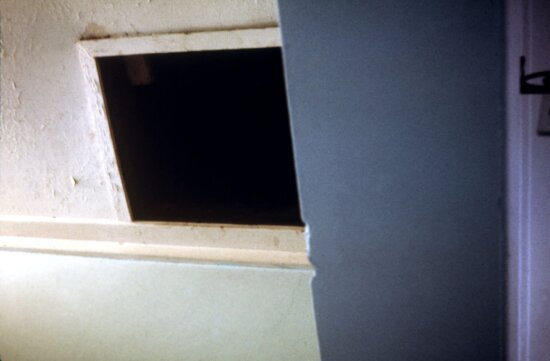 attic, entrance, student, hostel, Salisbury, Rhodesia